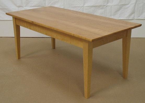 #210 Birdseye Maple Coffee Table