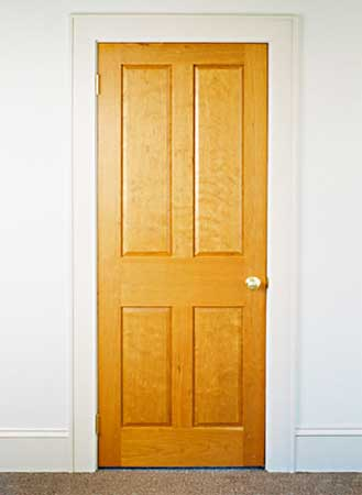 inside door. Plain Door Butternut Paneled Doors Inside Door To Inside Door D