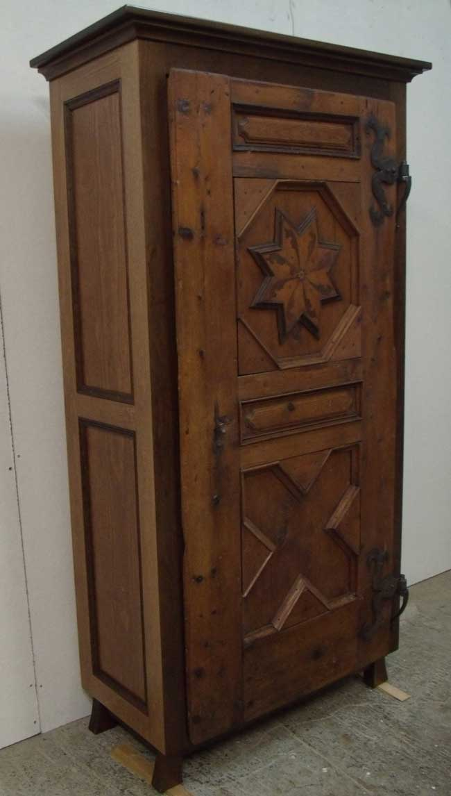 Antique Swiss Door Cabinet - Wilson Woodworking - Shaker Furniture, Traditional And Contemporary